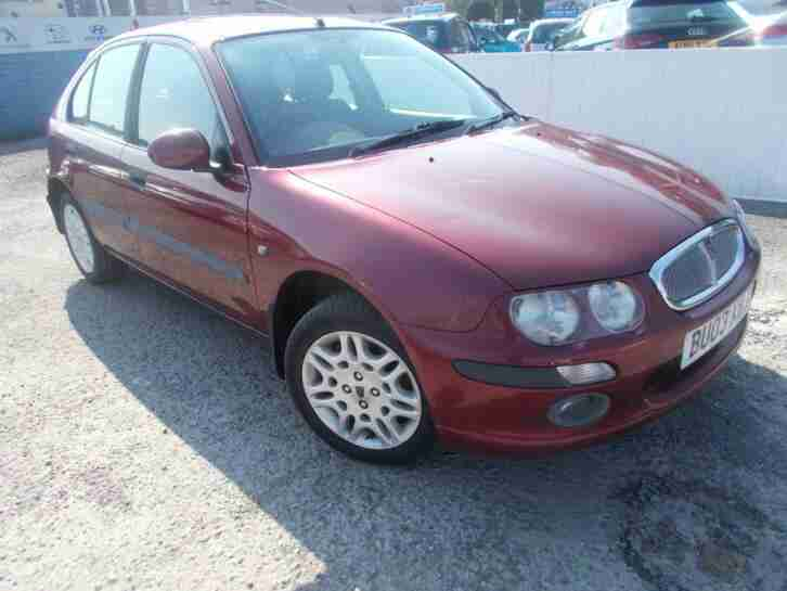 ROVER 25IXL 1.6 FULL LEATHER JUST 37K NEW TYRES SOLD SPARE OR REPAIR