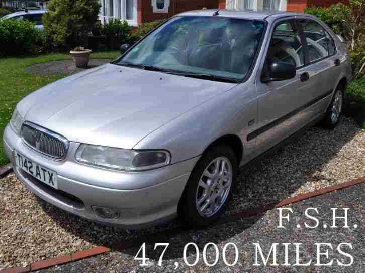 ROVER 400 1.6 IS 1 VICAR OWNER.FULL SERVICE