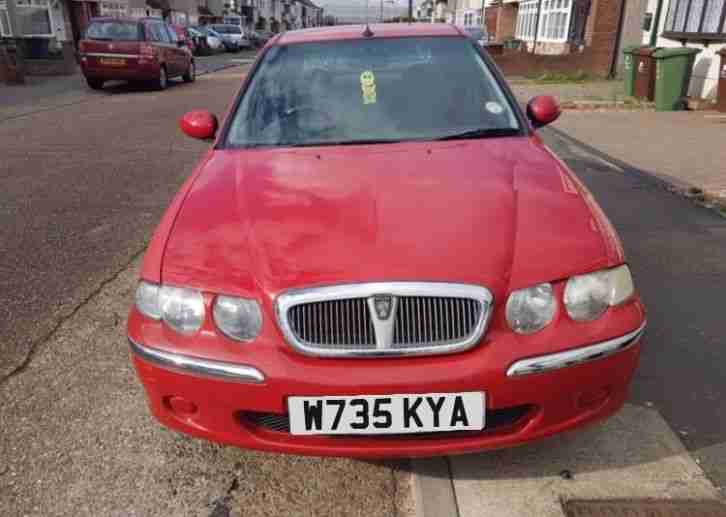 ROVER 45 1.4 33,540 miles mot 03 2018 px to clear , cheap , bargain ,
