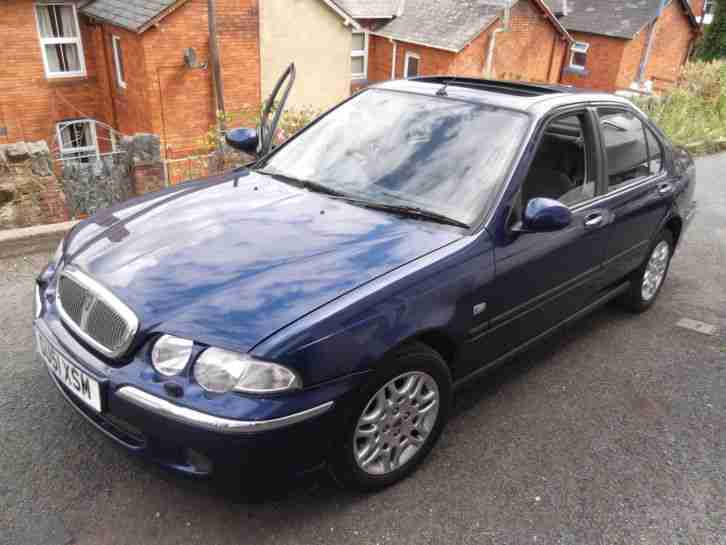ROVER 45 2.0 V6 AUTO low mileage