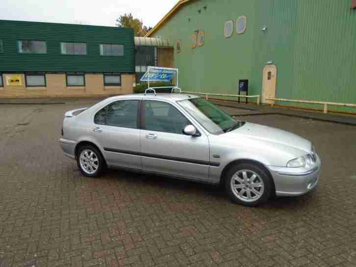ROVER 45 IMPRESSION. MG car from United Kingdom