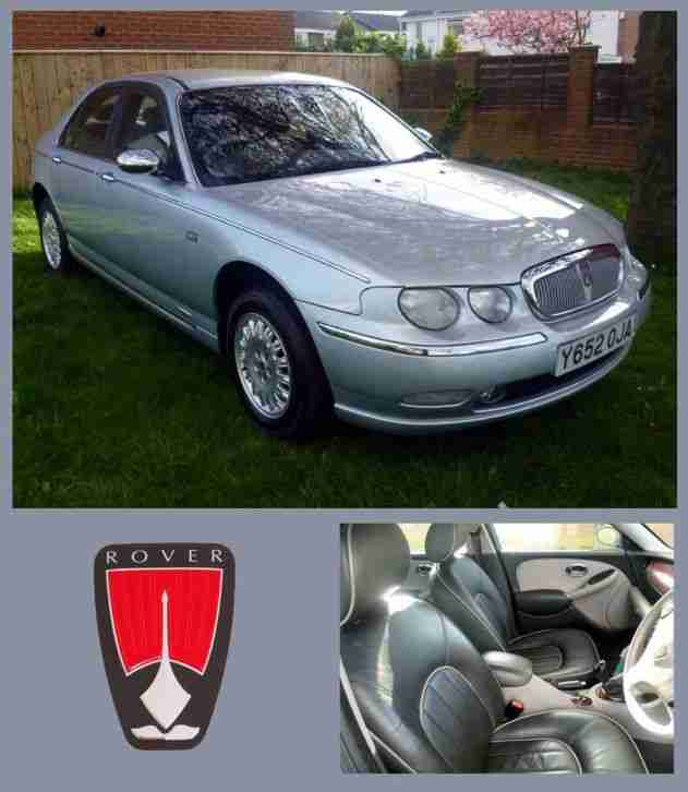ROVER 75 2.5 V6 CONNOISSEUR Full Leather.ONLY 37,000 MILES