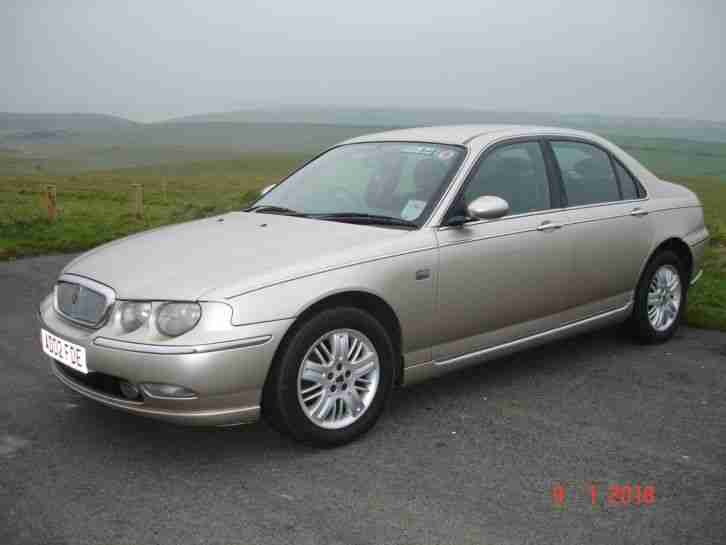 rover 75 club se 2002 2l v6 white gold excellent. Black Bedroom Furniture Sets. Home Design Ideas