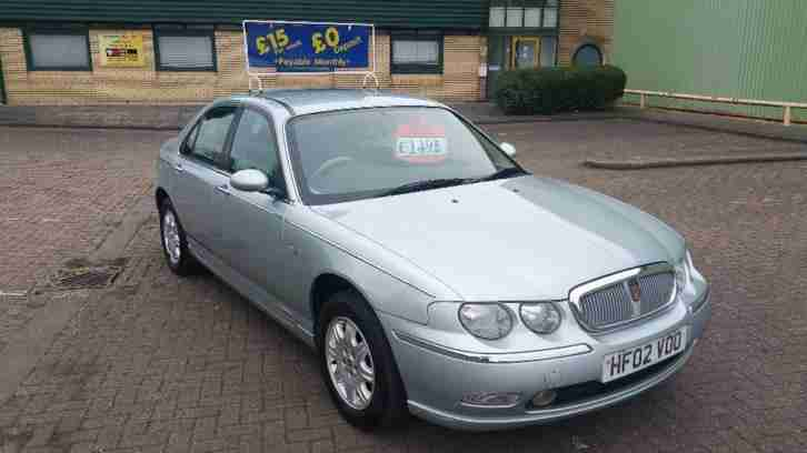 ROVER 75 CLUB V6 1 Owner, NEW MOT 2002