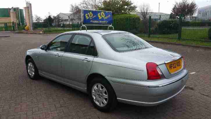 ROVER 75 CLUB V6 * 1-Owner, NEW MOT * 2002 Petrol Manual in Silver