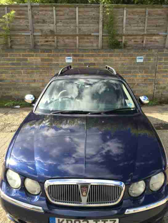 ROVER 75 CONNOISSEUR DIESEL CDT TOURER ESTATE AUTOMATIC SPARES OR REPAIR