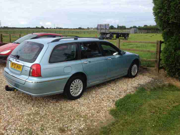 ROVER 75 CONNOISSEUR ESTATE 2.5V6 AUTOMATIC