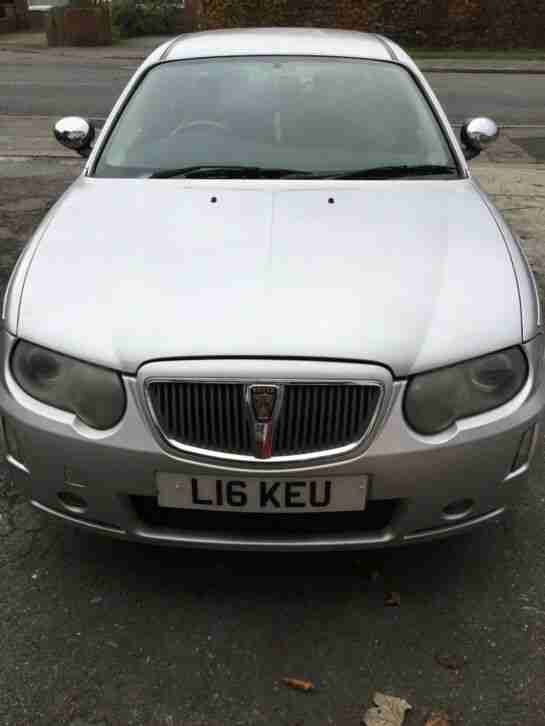 ROVER 75 CONNOISSSEUR. MG car from United Kingdom