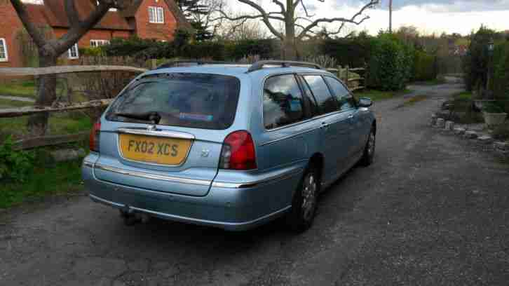 rover 75 diesel estate manual with full service history. Black Bedroom Furniture Sets. Home Design Ideas