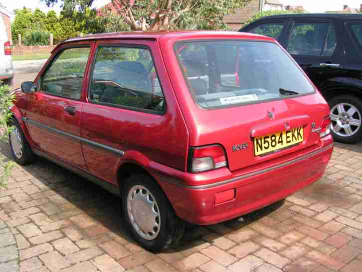Rover Metro 100 Kensington Se Red Good Example Car For Sale