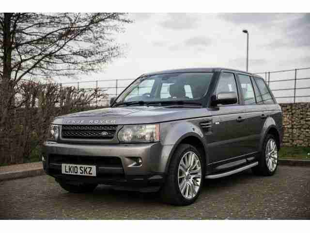 rrr 2010 land rover range rover sport hse tdv6 a grey. Black Bedroom Furniture Sets. Home Design Ideas