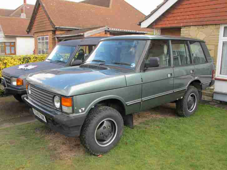 range rover classic 3 5 v8 rebuilt restored unfinished project car for sale. Black Bedroom Furniture Sets. Home Design Ideas