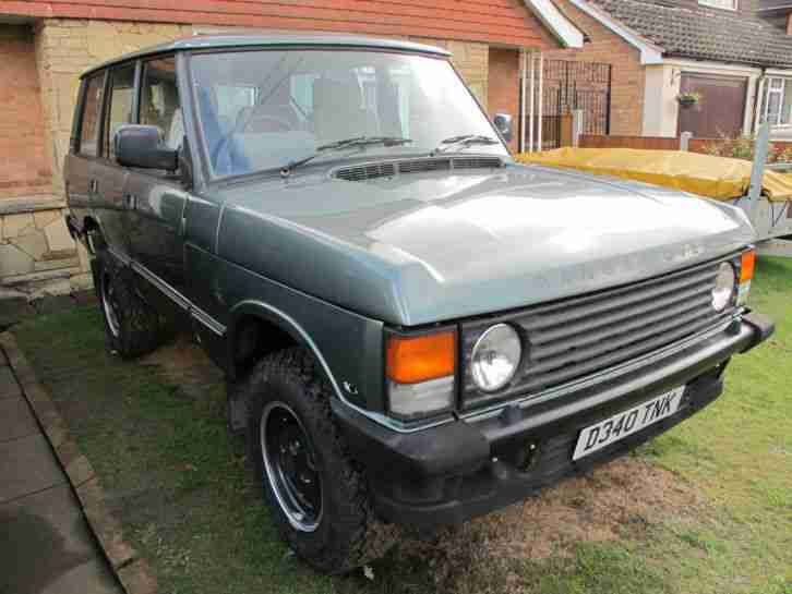 Range Rover Classic 3.5 V8 Rebuilt Restored Unfinished Project