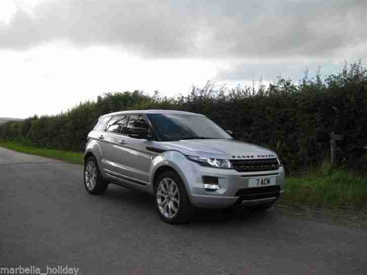 range rover evoque diesel 4 wheel drive version model low tax 62. Black Bedroom Furniture Sets. Home Design Ideas
