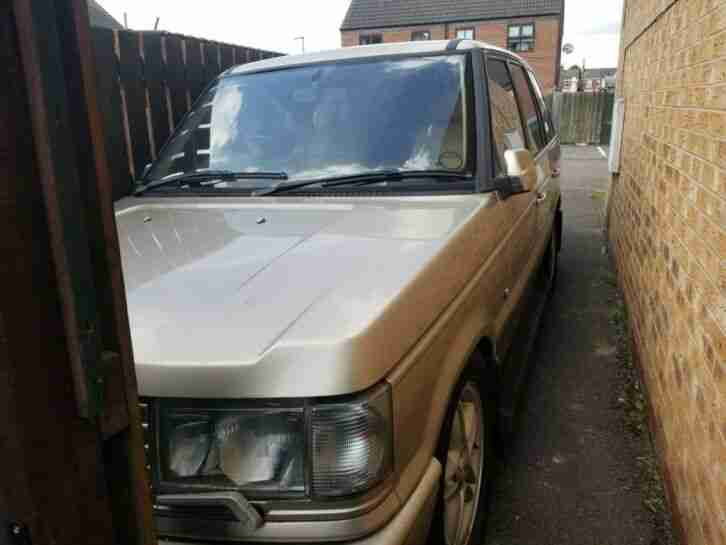 Range Rover P38 4.0 V8 Auto 1998 Low Mileage Spares or Repair