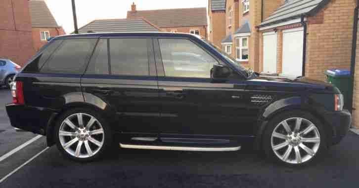 Range Rover Sport. Land & Range Rover car from United Kingdom
