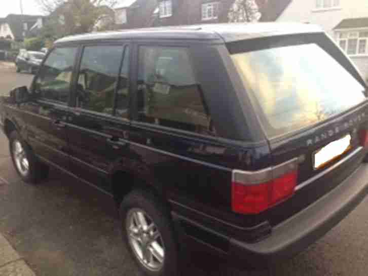 Range Rover Vogue 49,000 miles 4x4 Navy Blue