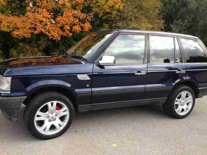 Range rover 2.5 DT AUTOMATIC DIESEL NAVY BLUE