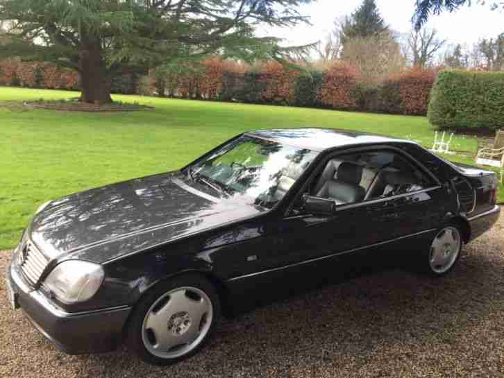 Rare 1996 mercedes s600 v12 coupe low mileage 52 000 car for 2002 mercedes benz s600 v12 for sale