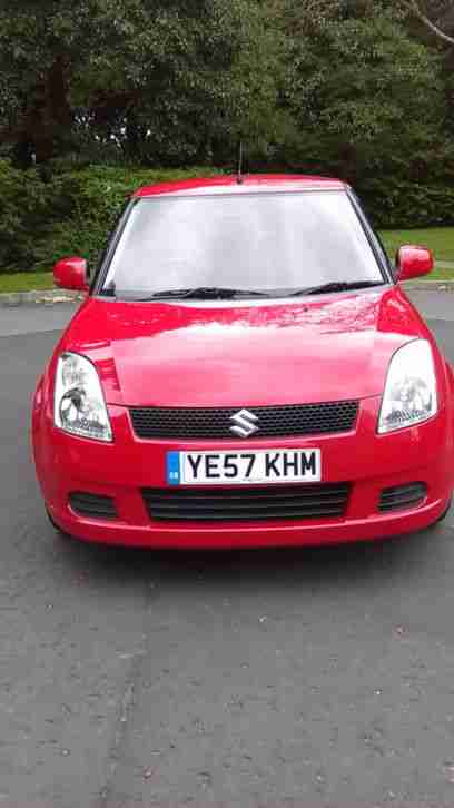 Red Swift 07 1.3 5 door 81,000 miles