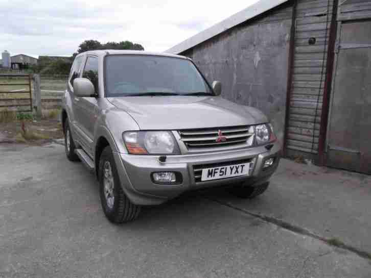 Reduced Mitsubishi Pajero Di D 2001 Shogun SWB Auto Facelift Full Mot 4x4