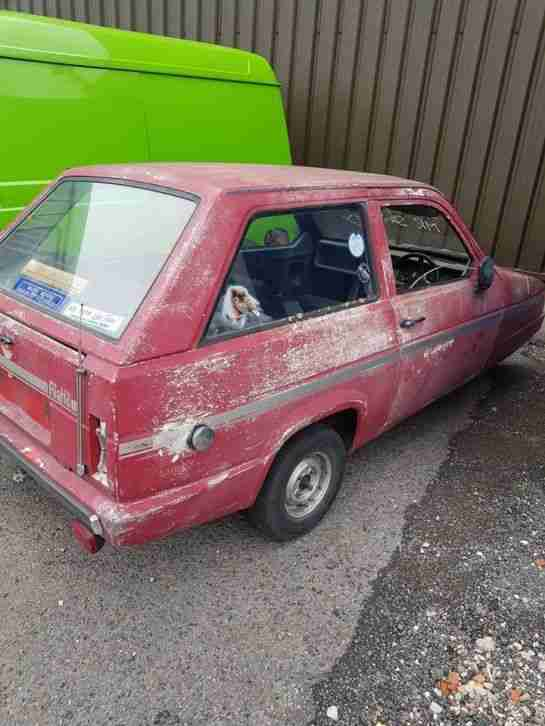 Reliant Rialto Classic Car Spares or Repairs