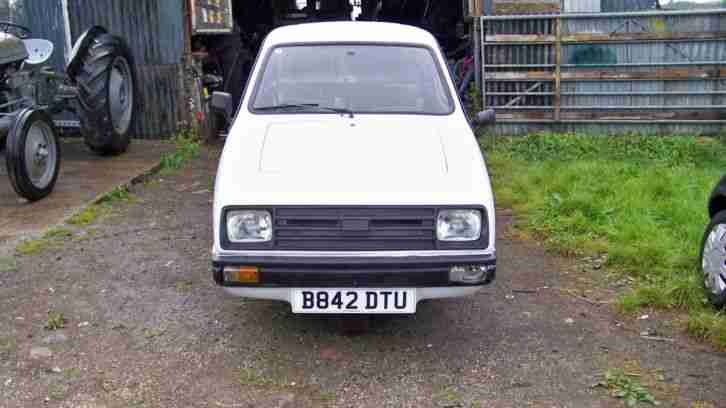 Reliant Rialto. Reliant car from United Kingdom