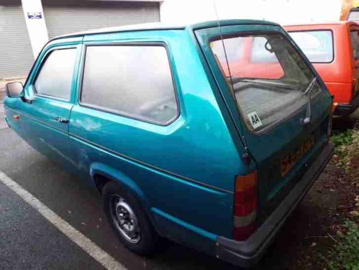 Reliant Robin Hatch LX