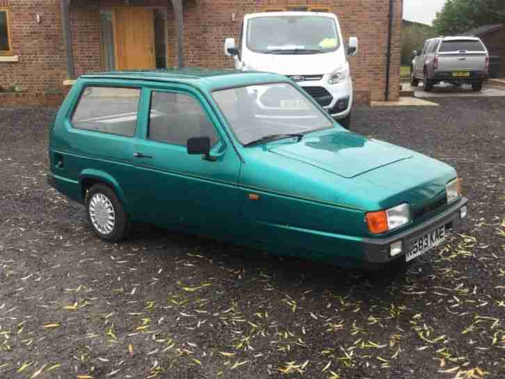 Reliant Robin Hatch. Reliant car from United Kingdom