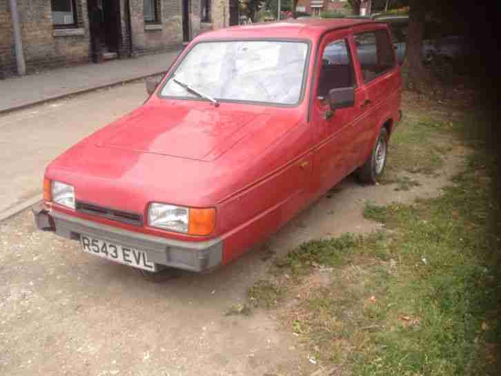 Reliant Robin LX - After 12 years the old fella can't drive it any more!