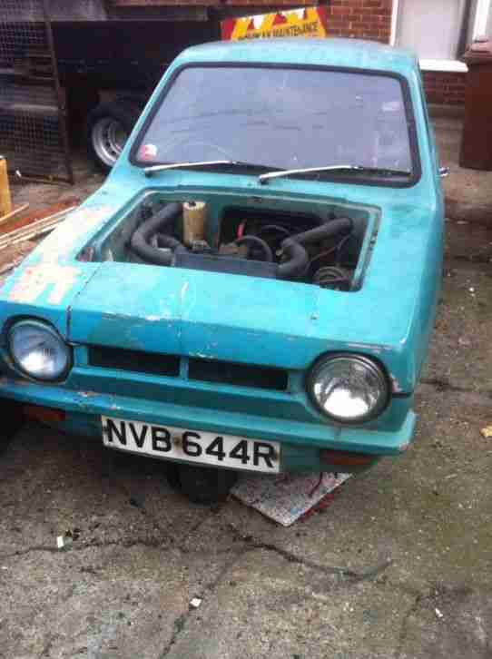 Reliant Robin Van. Reliant car from United Kingdom