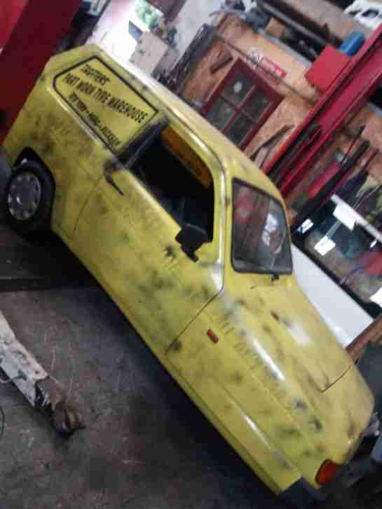 Reliant Robin lx. Reliant car from United Kingdom