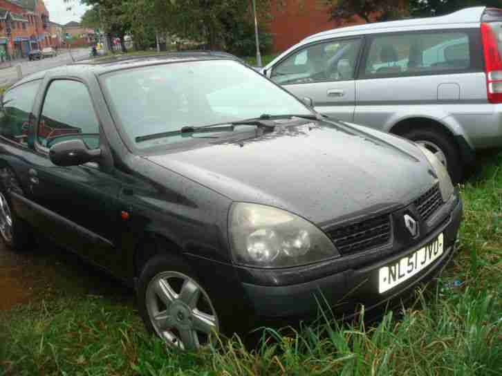 renault clio 1 2 16v breaking 2001 car for sale. Black Bedroom Furniture Sets. Home Design Ideas