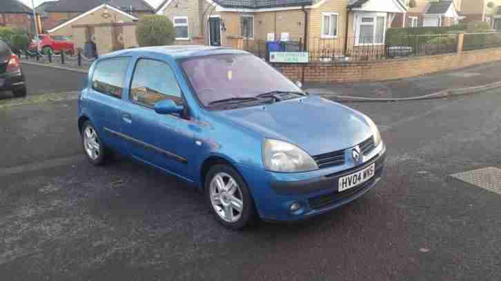 Renault Clio 1.5. Renault car from United Kingdom