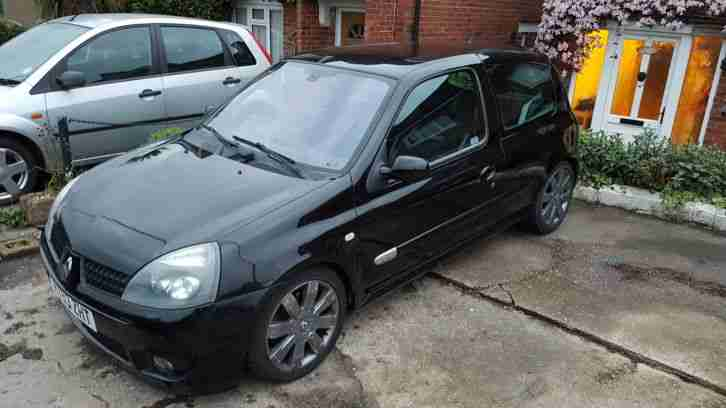 Renault Clio 182 both cup packs cambelt dephaser done