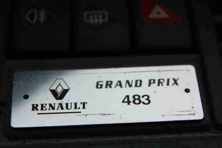 renault clio mk1 grand prix ltd edition 39k miles not williams car for sale. Black Bedroom Furniture Sets. Home Design Ideas