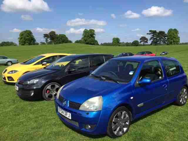 Renault Clio sport. Renault car from United Kingdom