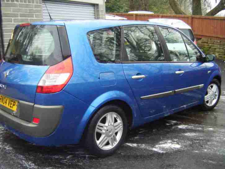 renault grand scenic 1 6 vvt 115 privilege 2004 04 reg car for sale. Black Bedroom Furniture Sets. Home Design Ideas