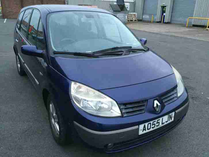 Renault Grand Scenic 1.6 VVT 7 seats