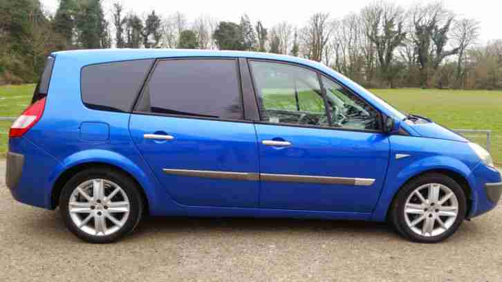 renault grand scenic 2004 car for sale. Black Bedroom Furniture Sets. Home Design Ideas