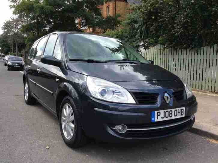 renault grand scenic dynamic 1 6vvt 2008 full service history. Black Bedroom Furniture Sets. Home Design Ideas