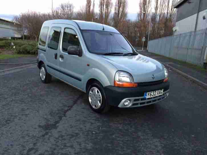 Renault Kangoo 1.4 manual wheelchair access