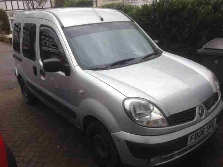 Renault Kangoo 2006. Renault car from United Kingdom