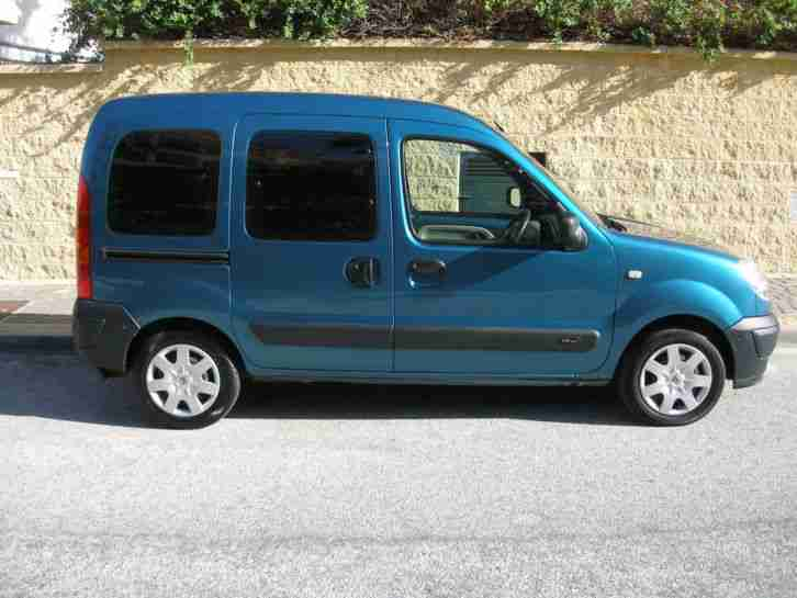 renault kangoo auto wheelchair mobility van stunning cond not lhd in. Black Bedroom Furniture Sets. Home Design Ideas