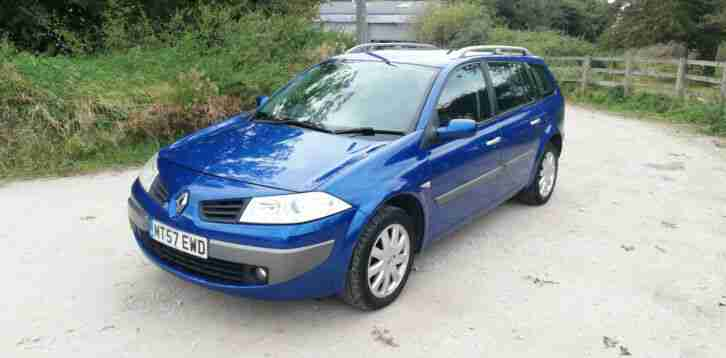 Renault Megane 1.4. Renault car from United Kingdom