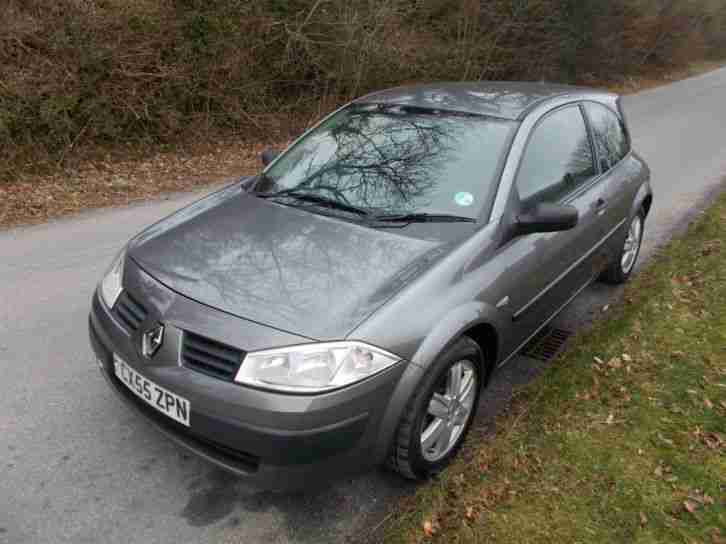 renault megane 80 a c 2004my extreme low tax band car for sale. Black Bedroom Furniture Sets. Home Design Ideas