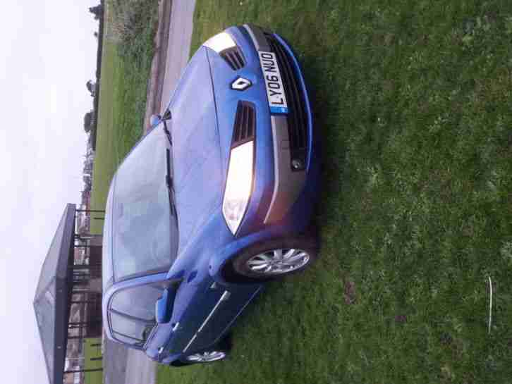 Renault Megane 1.6. Renault car from United Kingdom