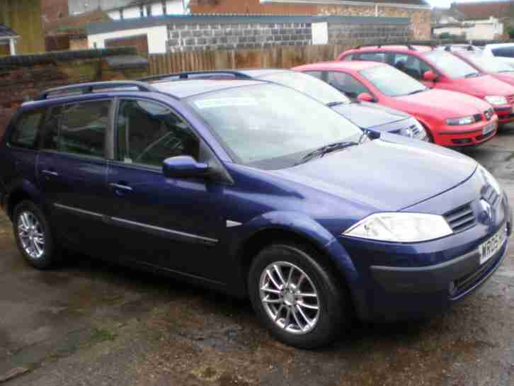Renault Megane 1.9dCi ( 120bhp ) 2005MY Expression