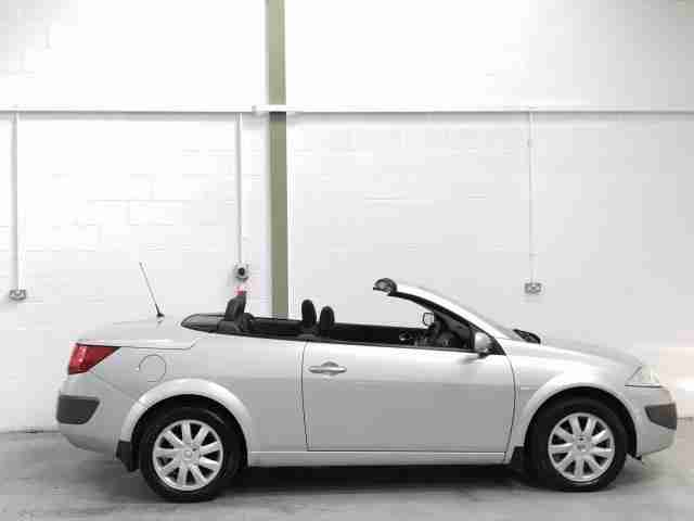 Renault megane cc convertible cabriolet silver diesel manual 2006 - Megane 3 coupe cabriolet ...