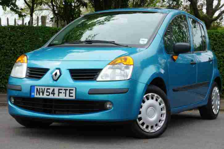 Renault Modus 1.4. Renault car from United Kingdom